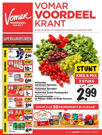 Vomar reclame folder (geldig t/m 19-09)