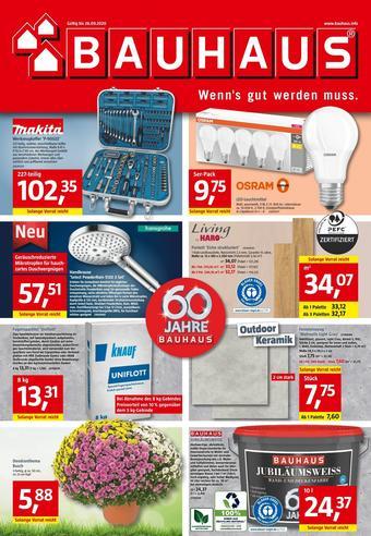 Bauhaus Prospekt (bis einschl. 26-09)