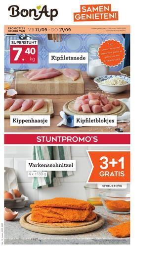 Bon Ap reclame folder (geldig t/m 24-09)