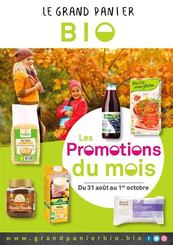 Le grand panier bio catalogue publicitaire (valable jusqu'au 30-09)