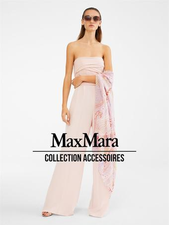 Max Mara catalogue publicitaire (valable jusqu'au 15-10)
