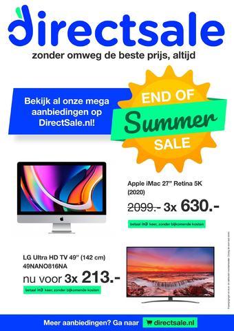 DirectSale reclame folder (geldig t/m 20-09)