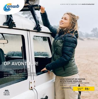 ANWB reclame folder (geldig t/m 27-09)