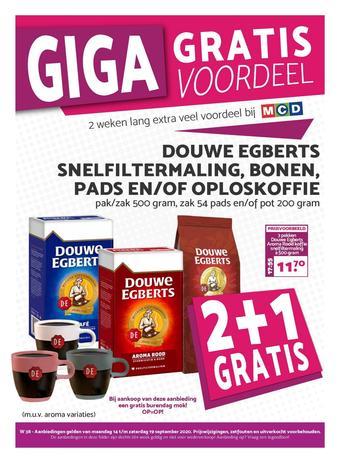 MCD Supermarkt reclame folder (geldig t/m 19-09)