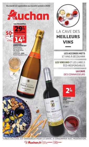 Auchan catalogue publicitaire (valable jusqu'au 06-10)
