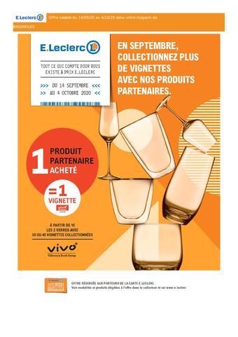 E.Leclerc catalogue publicitaire (valable jusqu'au 04-10)