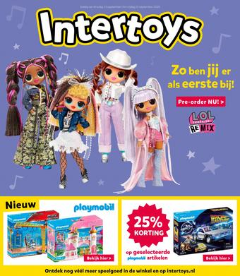 Intertoys reclame folder (geldig t/m 25-09)