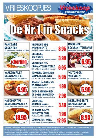 Vrieskoop reclame folder (geldig t/m 26-09)