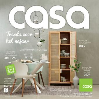Casa reclame folder (geldig t/m 01-11)