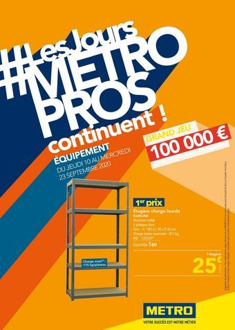 METRO catalogue publicitaire (valable jusqu'au 23-09)