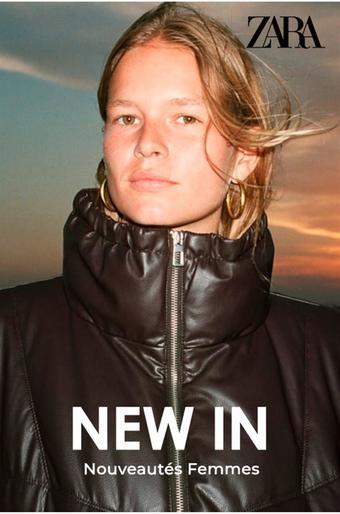 Zara catalogue publicitaire (valable jusqu'au 09-11)