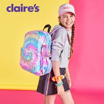 Claire's catalogue publicitaire (valable jusqu'au 13-11)
