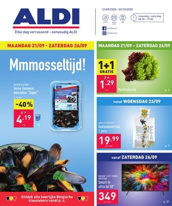 ALDI reclame folder (geldig t/m 02-10)