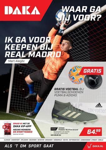 Daka Sport reclame folder (geldig t/m 27-09)