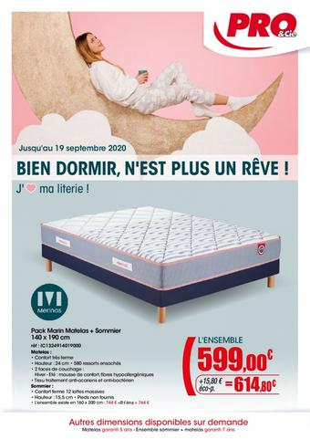 Pro&Cie catalogue publicitaire (valable jusqu'au 19-09)