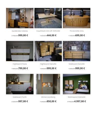 Möbel Debbeler Prospekt (bis einschl. 30-11)