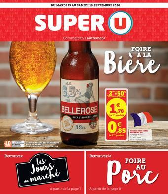 Super U catalogue publicitaire (valable jusqu'au 19-09)