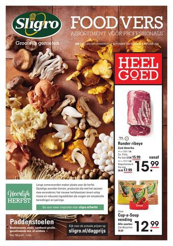 Sligro reclame folder (geldig t/m 05-10)