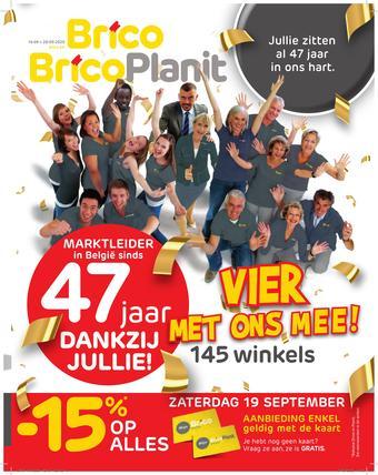Brico reclame folder (geldig t/m 28-09)