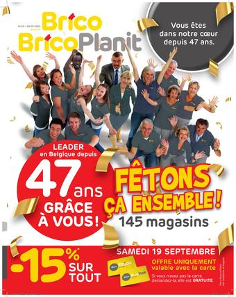 Brico catalogue publicitaire (valable jusqu'au 28-09)