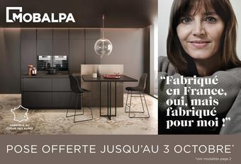 Mobalpa catalogue publicitaire (valable jusqu'au 03-10)