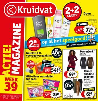 Kruidvat reclame folder (geldig t/m 04-10)