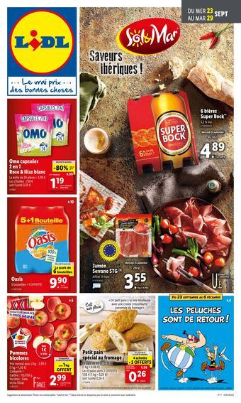 Lidl catalogue publicitaire (valable jusqu'au 29-09)
