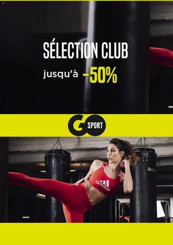 Go Sport catalogue publicitaire (valable jusqu'au 30-09)