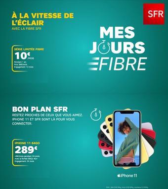 SFR catalogue publicitaire (valable jusqu'au 30-09)