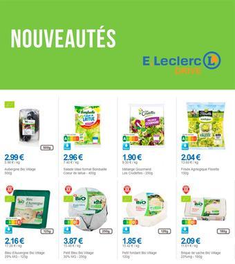 E.Leclerc Drive catalogue publicitaire (valable jusqu'au 19-10)