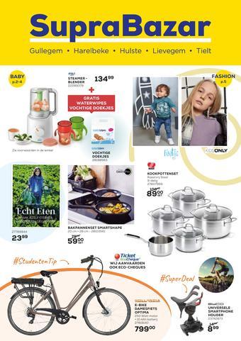 Supra Bazar reclame folder (geldig t/m 27-10)