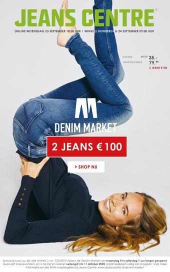 Jeans Centre reclame folder (geldig t/m 11-10)