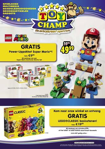 ToyChamp reclame folder (geldig t/m 11-10)