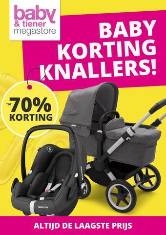 Baby & Tiener reclame folder (geldig t/m 26-09)