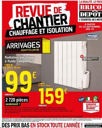 Brico Dépôt catalogue publicitaire (valable jusqu'au 08-10)