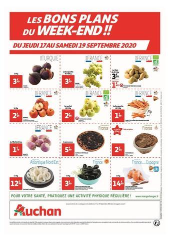 Auchan catalogue publicitaire (valable jusqu'au 19-09)