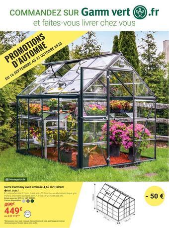 Gamm vert catalogue publicitaire (valable jusqu'au 31-10)