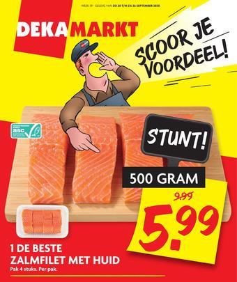 Dekamarkt reclame folder (geldig t/m 26-09)