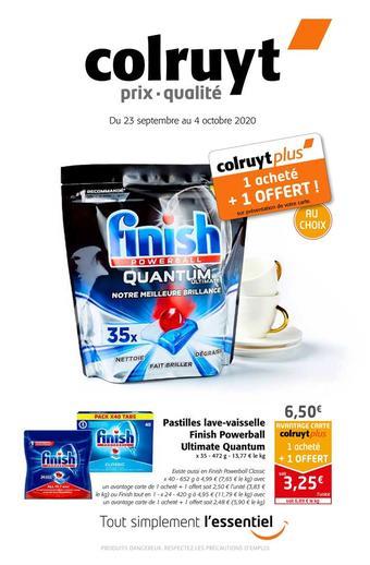 Colruyt reclame folder (geldig t/m 04-10)