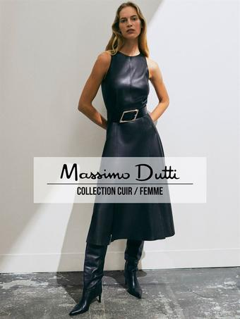 Massimo Dutti reclame folder (geldig t/m 16-11)