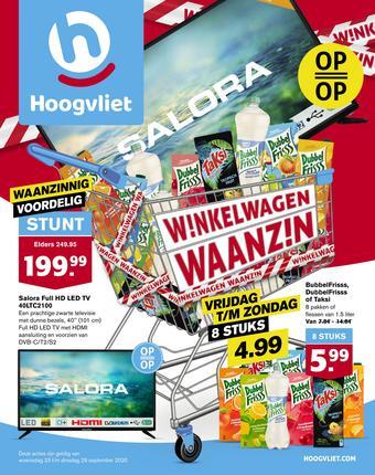 Hoogvliet reclame folder (geldig t/m 29-09)