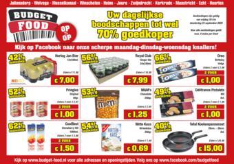 Budget Food reclame folder (geldig t/m 24-09)