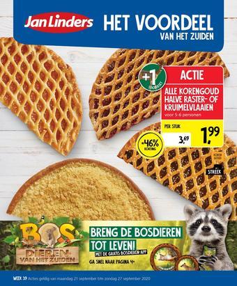 Jan Linders reclame folder (geldig t/m 27-09)