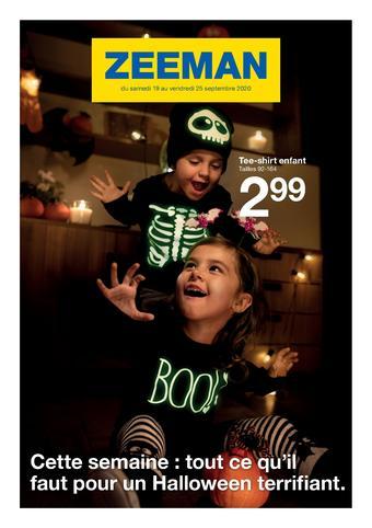 Zeeman catalogue publicitaire (valable jusqu'au 25-09)