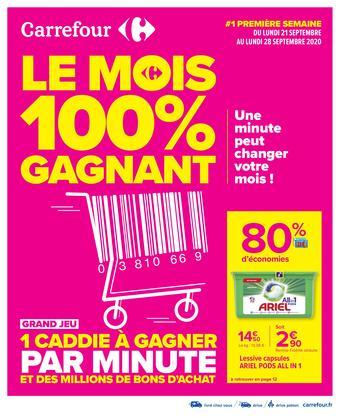 Carrefour catalogue publicitaire (valable jusqu'au 05-10)