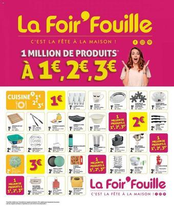 La Foir'Fouille catalogue publicitaire (valable jusqu'au 04-10)