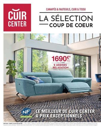 Cuir Center catalogue publicitaire (valable jusqu'au 31-01)