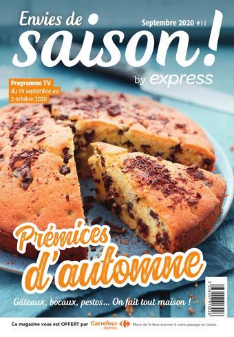 Carrefour Express catalogue publicitaire (valable jusqu'au 02-10)