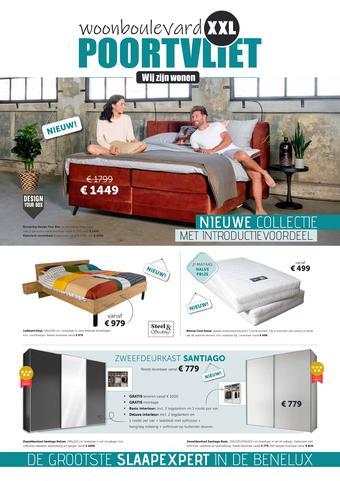 Woonboulevard Poortvliet reclame folder (geldig t/m 04-10)
