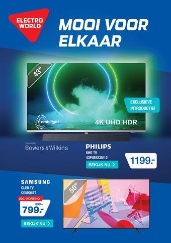 Electroworld reclame folder (geldig t/m 04-10)